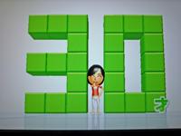 Wii Fit Plus 2011年2月18日のバランス年齢 30歳