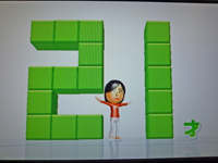 Wii Fit Plus 2011年2月26日のバランス年齢 21歳