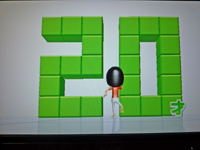 Wii Fit Plus 2011年3月1日のバランス年齢 20歳
