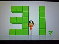 Wii Fit Plus 2011年3月7日のバランス年齢 31歳