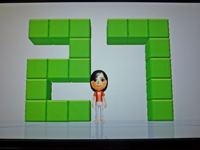 Wii Fit Plus 2011年3月11日のバランス年齢 27歳
