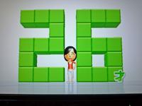 Wii Fit Plus 2011年3月11日のバランス年齢 26歳