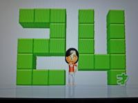 Wii Fit Plus 2011年3月19日のバランス年齢 24歳