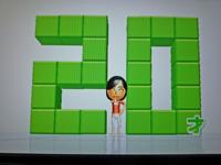 Wii Fit Plus 2011年3月22日のバランス年齢 20歳