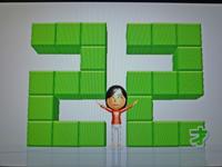 Wii Fit Plus 2011年3月27日のバランス年齢 22歳