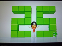 Wii Fit Plus 2011年3月28日のバランス年齢 25歳
