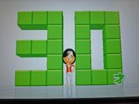 Wii Fit Plus 2011年4月8日のバランス年齢 30歳