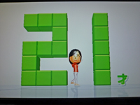 Wii Fit Plus 2011年4月9日のバランス年齢 21歳