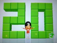 Wii Fit Plus 2011年4月19日のバランス年齢 20歳