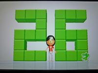 Wii Fit Plus 2011年4月21日のバランス年齢 26歳