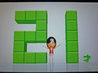 Wii Fit Plus 2011年4月28日のバランス年齢 21歳