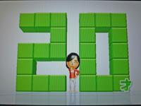 Wii Fit Plus 2011年4月29日のバランス年齢 20歳