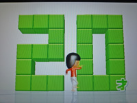 Wii Fit Plus 2011年5月1日のバランス年齢 20歳