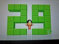 Wii Fit Plus 2011年5月2日のバランス年齢 29歳