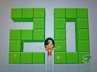 Wii Fit Plus 2011年5月3日のバランス年齢 20歳