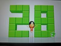 Wii Fit Plus 2011年5月6日のバランス年齢 28歳