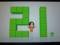 Wii Fit Plus 2011年5月9日のバランス年齢 21歳