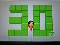 Wii Fit Plus 2011年5月12日のバランス年齢 30歳