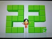 Wii Fit Plus 2011年5月14日のバランス年齢 22歳