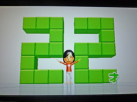 Wii Fit Plus 2011年5月16日のバランス年齢 22歳