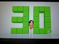 Wii Fit Plus 2011年5月18日のバランス年齢 30歳