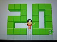 Wii Fit Plus 2011年5月20日のバランス年齢 20歳
