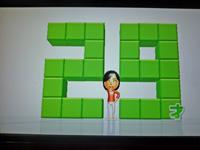 Wii Fit Plus 2011年5月22日のバランス年齢 29歳