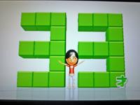 Wii Fit Plus 2011年5月24日のバランス年齢 33歳