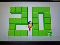 Wii Fit Plus 2011年5月28日のバランス年齢 20歳