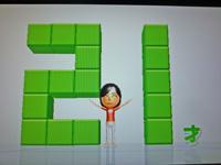 Wii Fit Plus 2011年5月29日のバランス年齢 21歳