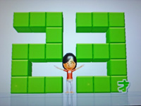 Wii Fit Plus 2011年5月30日のバランス年齢 23歳