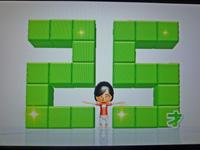 Wii Fit Plus 2011年6月2日のバランス年齢 25歳