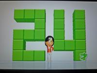 Wii Fit Plus 2011年6月6日のバランス年齢 24歳