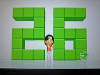 Wii Fit Plus 2011年6月10日のバランス年齢 26歳
