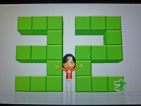 Wii Fit Plus 2011年6月21日のバランス年齢 32歳