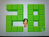 Wii Fit Plus 2011年6月24日のバランス年齢 28歳
