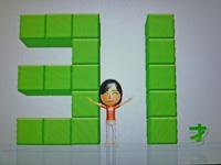 Wii Fit Plus 2011年6月27日のバランス年齢 31歳