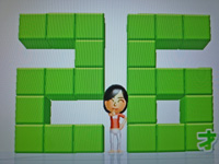 Wii Fit Plus 2011年6月28日のバランス年齢 26歳