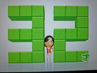 Wii Fit Plus 2011年7月3日のバランス年齢 32歳