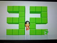 Wii Fit Plus 2011年7月5日のバランス年齢 32歳