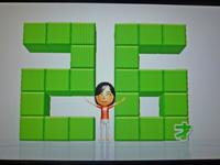 Wii Fit Plus 2011年7月6日のバランス年齢 26歳