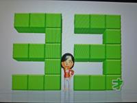 Wii Fit Plus 2011年7月7日のバランス年齢 33歳