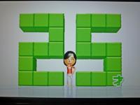 Wii Fit Plus 2011年7月12日のバランス年齢 25歳