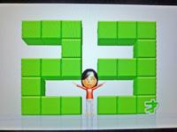 Wii Fit Plus 2011年7月24日のバランス年齢 23歳