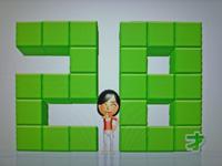 Wii Fit Plus 2011年7月25日のバランス年齢 28歳