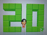 Wii Fit Plus 2011年7月26日のバランス年齢 20歳
