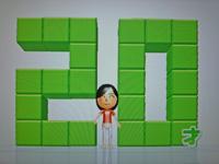 Wii Fit Plus 2011年7月27日のバランス年齢 20歳