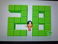 Wii Fit Plus 2011年7月29日のバランス年齢 28歳