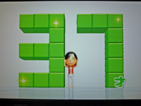 Wii Fit Plus 2011年8月7日のバランス年齢 37歳