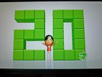 Wii Fit Plus 2011年8月13日のバランス年齢 20歳